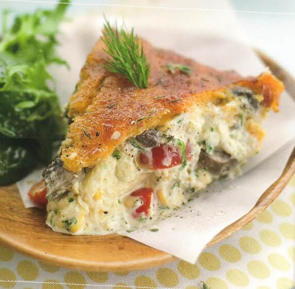Aric-a-strata With Mushrooms, Tomatoes, And Fresh Recipe