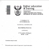 TVET Exam Papers - Get NATED Papers Here