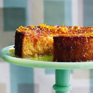 How to Make Gluten Free Flourless Orange Cake Dessert Recipe