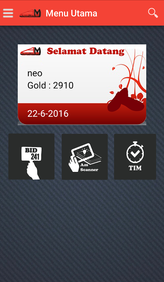 ArdilesMetro Mobile App- screenshot
