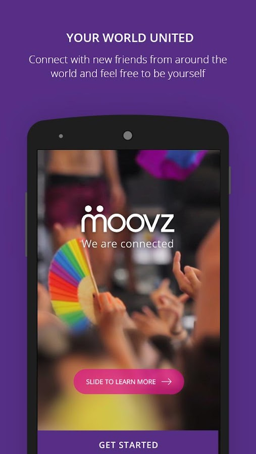 Moovz – Gay & Lesbian network - screenshot