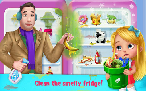 Daddy's Little Helper - Messy Home Fun Adventure - screenshot