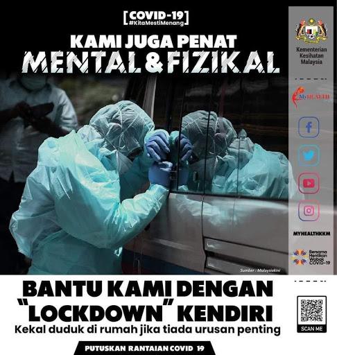 Health DG Urges Public To Practice Self-Lockdown As Health System Is Under Great Pressure