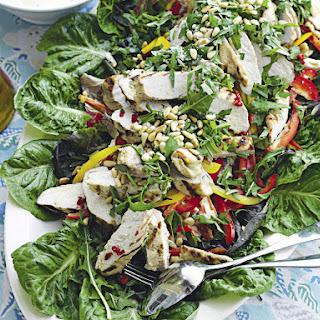 Marinated Chicken Salad with Homemade Mayonnaise.