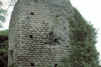 Photo: Close up of the double tank tower in the Yzeron aqueduct near Craponne