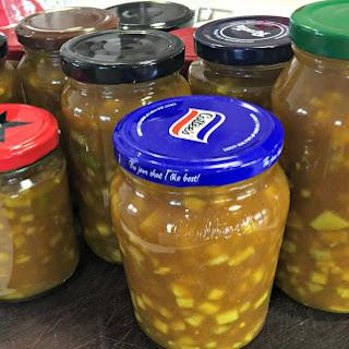 Sweet Mustard Pickles.