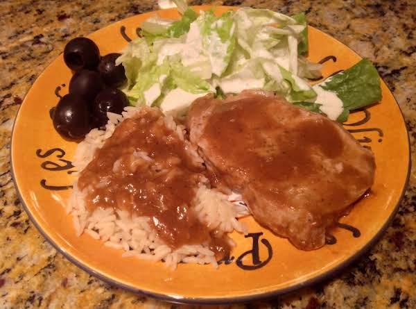 Simply Pork Chops & Gravy