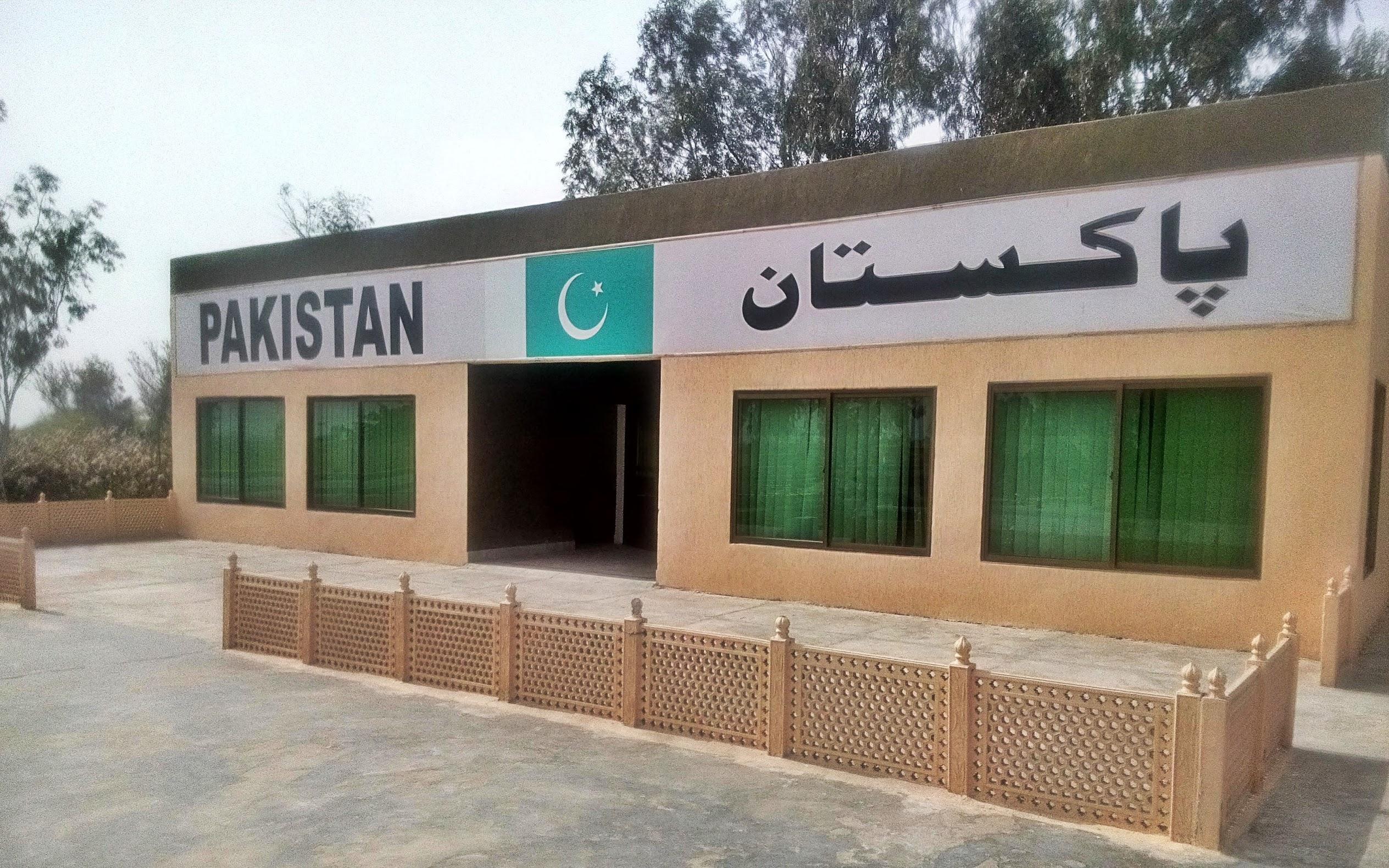 Pakistan Border Post : Sulemanki