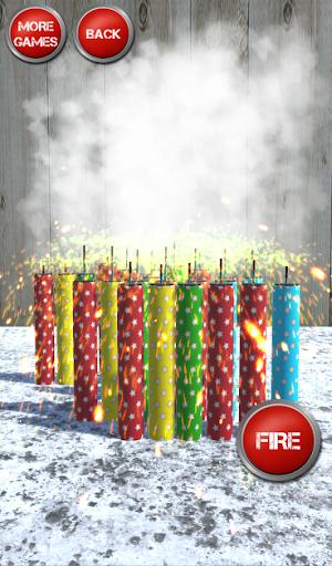 Firecrackers, Bombs and Explosions Simulator  captures d'écran 1