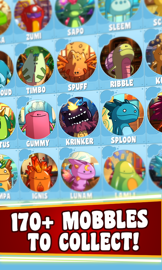 Mobbles, the mobile monsters- screenshot