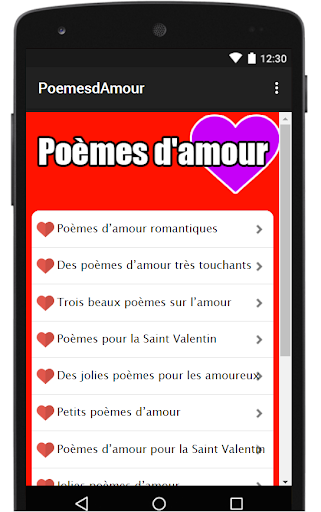 Download Poemes Damour 2019 Apk Full Apksfullcom