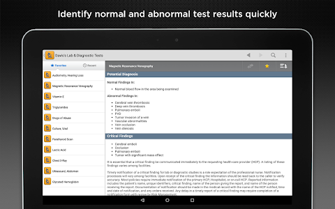 Davis's Lab & Diagnostic Tests screenshot 9