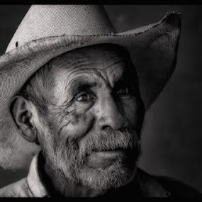 by Anne Marie Hickey - People Portraits of Men