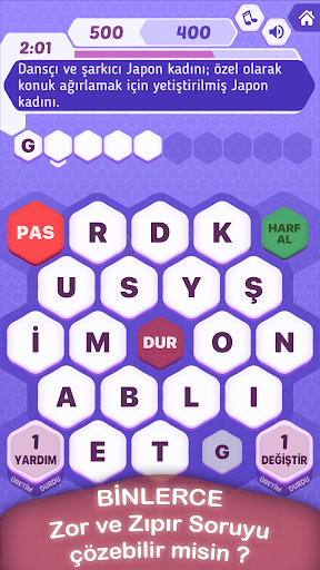 Kelime Bulmaca Oyunu - tv2 1.1.6 screenshots 1