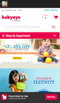 Online Shopping for Kids - screenshot