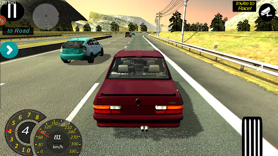 Manual gearbox Car parking Screenshot