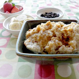Sugar-Free Overnight Crock Pot Oatmeal