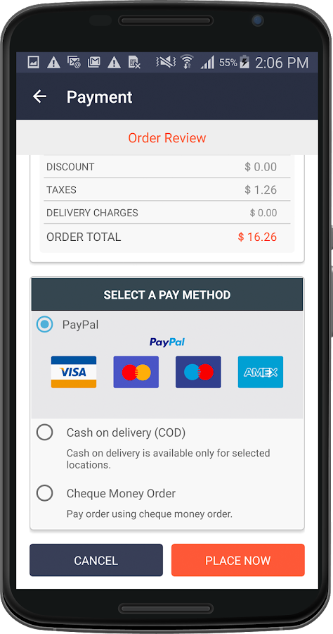 Magento Mobile App - OnGoBuyo- screenshot