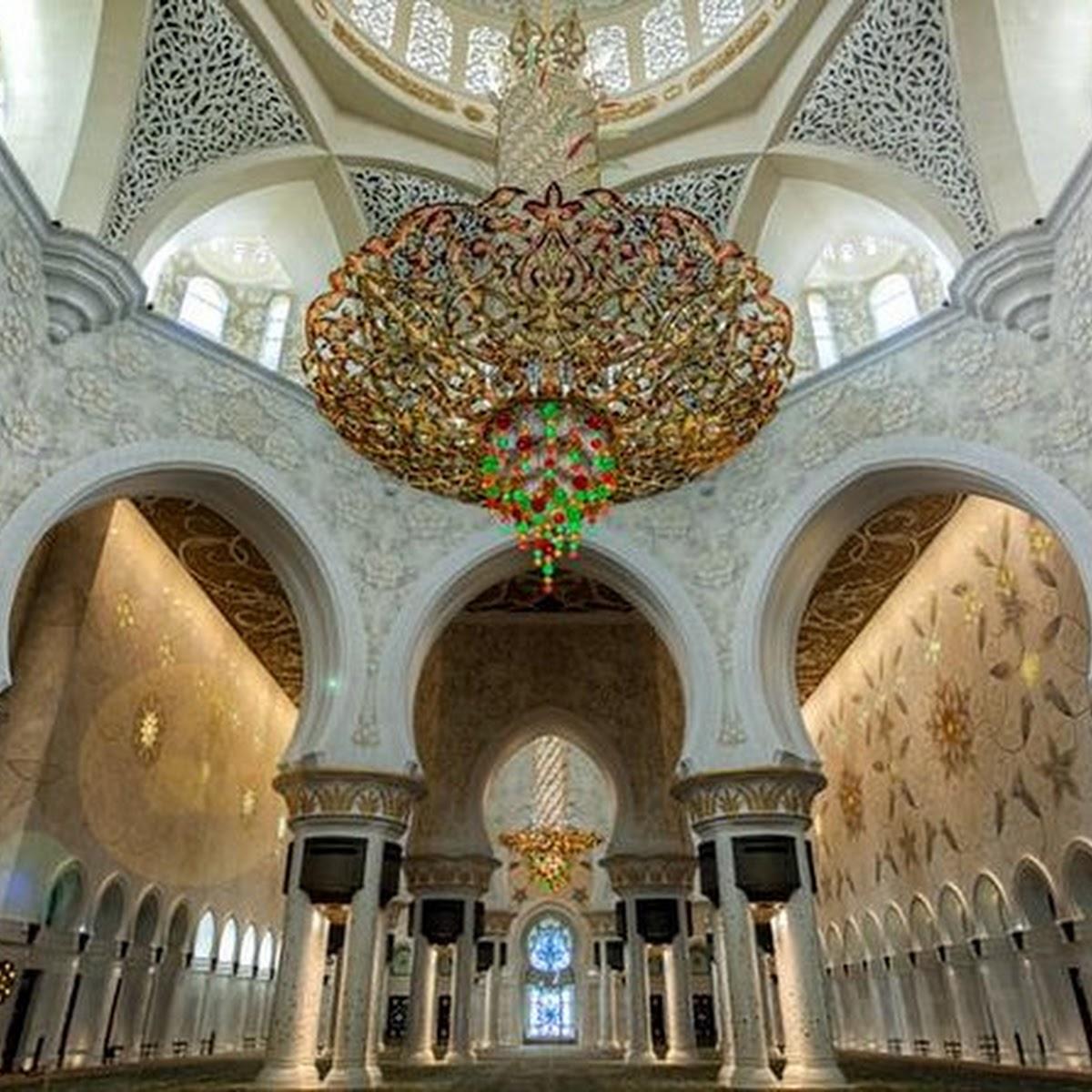 Abu Dhabi Sheikh Zayed Mosque tour Ferrari world formula one track