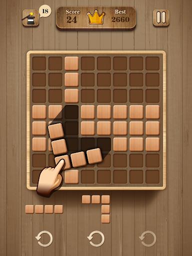 Wood Block Puzzle - Wooden Game 1.2 screenshots 7