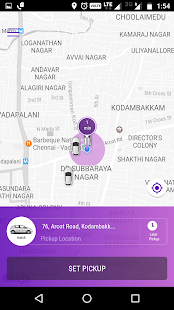 Fasttrack Taxi App - náhled