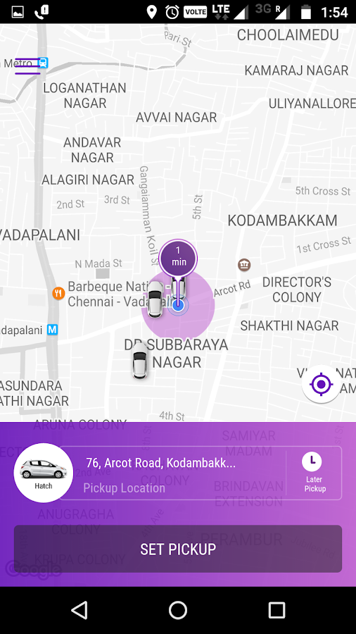 Fasttrack Taxi App- screenshot