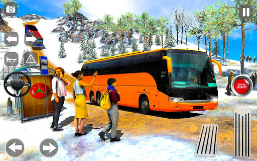 Offroad Coach Tourist Bus Simulator 2020 apktram screenshots 1