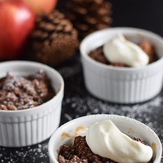 Gingerbread Apple Crumble.