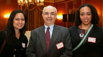 Photo: Valeria Cuba (Suffolk Law), Martin Newhouse (New England Legal Foundation), and Tiffany Andrade (Suffolk Law).