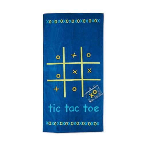 Beach Game Printed Towel