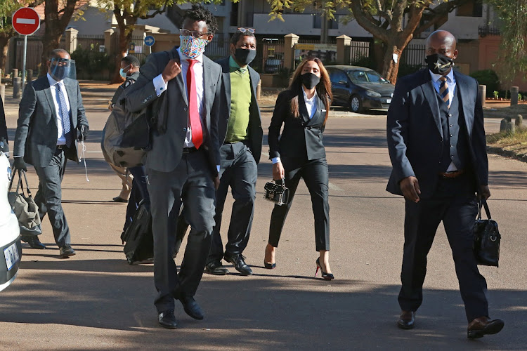 Norma Gigaba has assembled a high-level legal team to defend her on charges of malicious damage to property and crimen injuria.