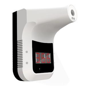 Termometru cu infrarosu pentru perete, fara contact, digital