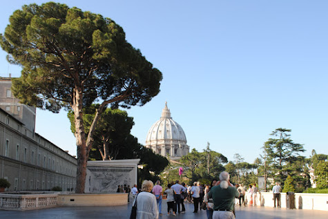 Vatican City and Outside of The Vatican