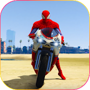 Game Superhero Tricky bike race (kids games) APK for Windows Phone