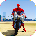 Superhero Tricky bike race (kids games)