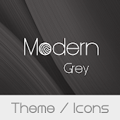 Modern Grey Theme + Icons