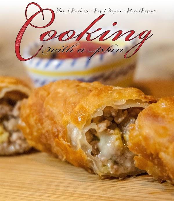 East Meets West: Rib Eye/pork/cheese Eggrolls Recipe