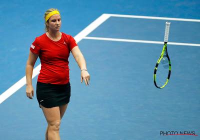Ook Ysaline Bonaventure heeft zich niet kunnen plaatsen voor de hoofdtabel van Wimbledon