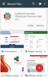 OfficeSuite + PDF Editor Screenshot 2