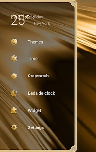 Grazioso GO Clock Theme- screenshot thumbnail