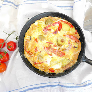Red Pepper Cheese Omelette Recipes