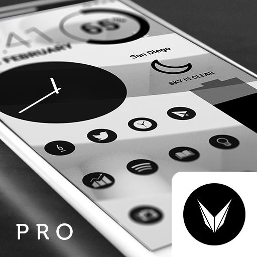 Dark Void - Black Circle Icons (Pro Version) file APK Free for PC, smart TV Download