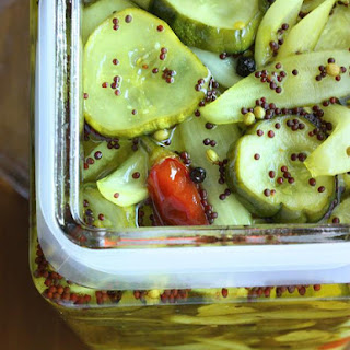Bread and Butter Pickles.