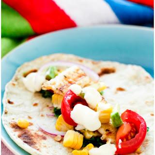 Fish Tacos With Fresh Smoky Tortillas