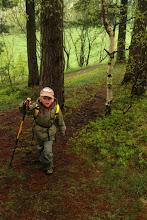 Photo: młody dzielnie pokonuje kolejne kilometry