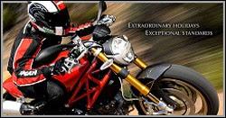 """Photo: Columbus International Motorrad Sicherer Stand. Quick Stand II Profi für Mercedes Viano / Motorrad Auffahrschiene Unser Unternehmen verleiht Ducati Motorräder und organisiert Luxustouren von Cannes aus in Südfrankreich. Das Firmenmotto von Columbus International ist: """"das Bessere ist das Beste"""". Deswegen arbeiten wir mit MotoMove. Denn auf diese Transportlösungen können wir uns verlassen. www.columbus-international.com"""