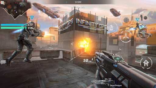 Infinity Ops: Online FPS filehippodl screenshot 3