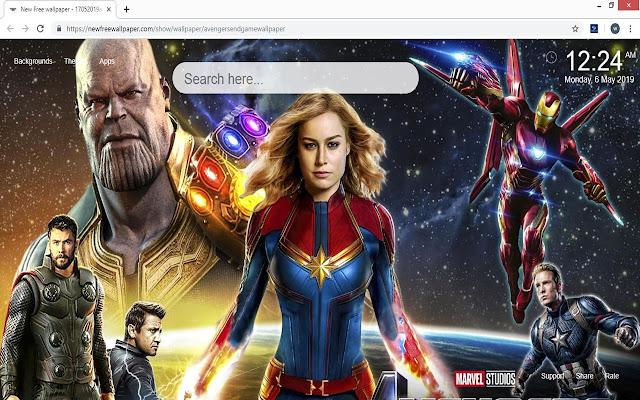 Avengers Endgame HD Wallpapers New Tab