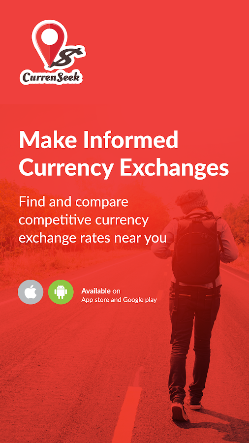 CurrenSeek - Money Changer App- screenshot
