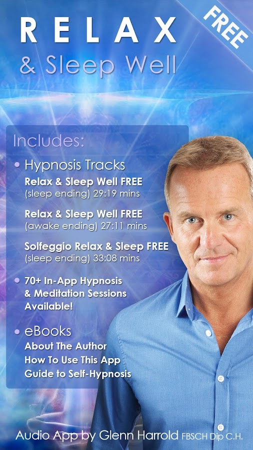 Relax & Sleep Well Hypnosis & Meditation- screenshot